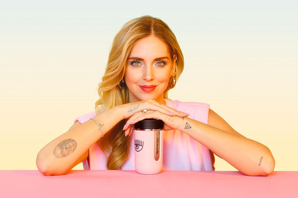 Nespresso lança acessório de edição limitada em parceria exclusiva com Chiara Ferragni